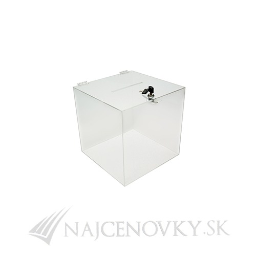 Plexi box 15x15x15 cm