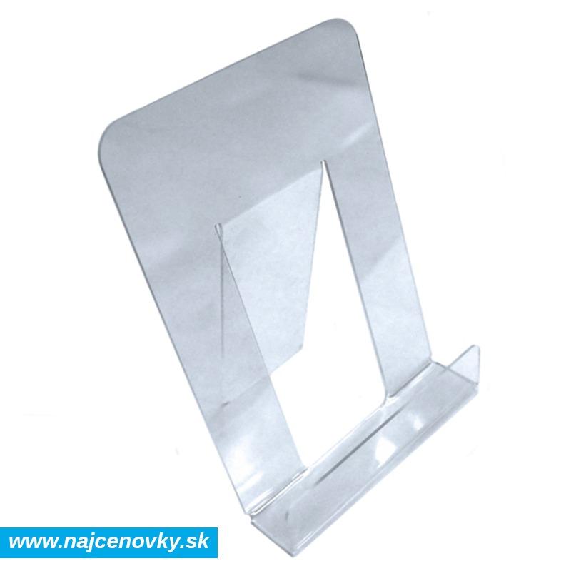Plexisklový stojan na brožúry A4, na výšku