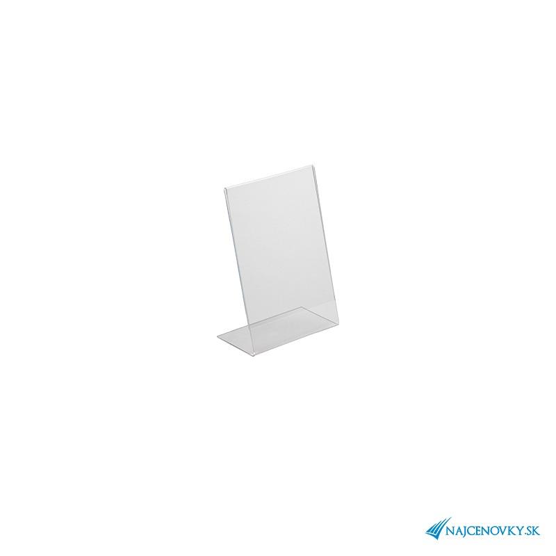 Plexisklová cenovka A6 na výšku