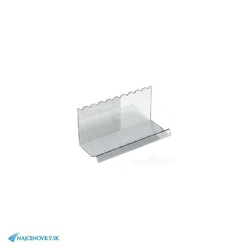 Plexisklový stojan na guličkové perá