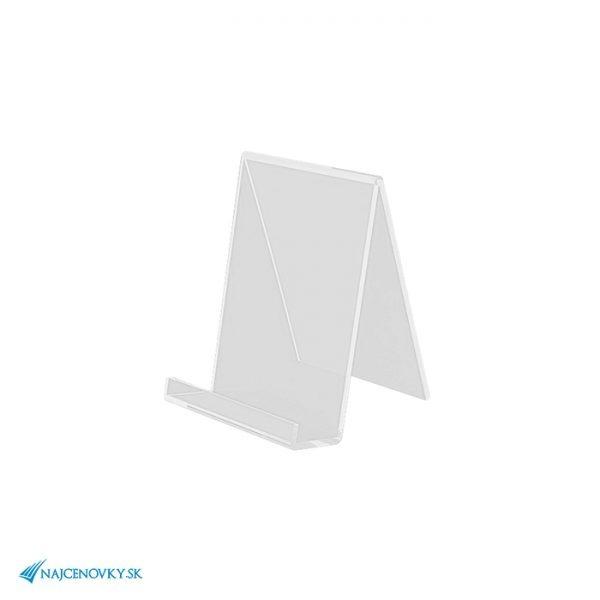Plexisklový stojan na smartfón