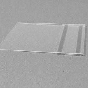 Plexisklová kapsa na lepiacej páske