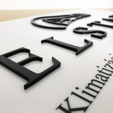 3D nápisy a logá z plexiskla
