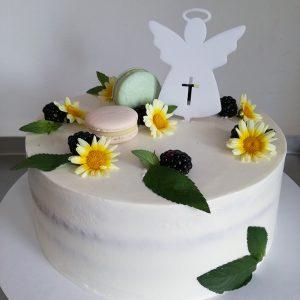 Top do torty na Prvé sväte prijímanie