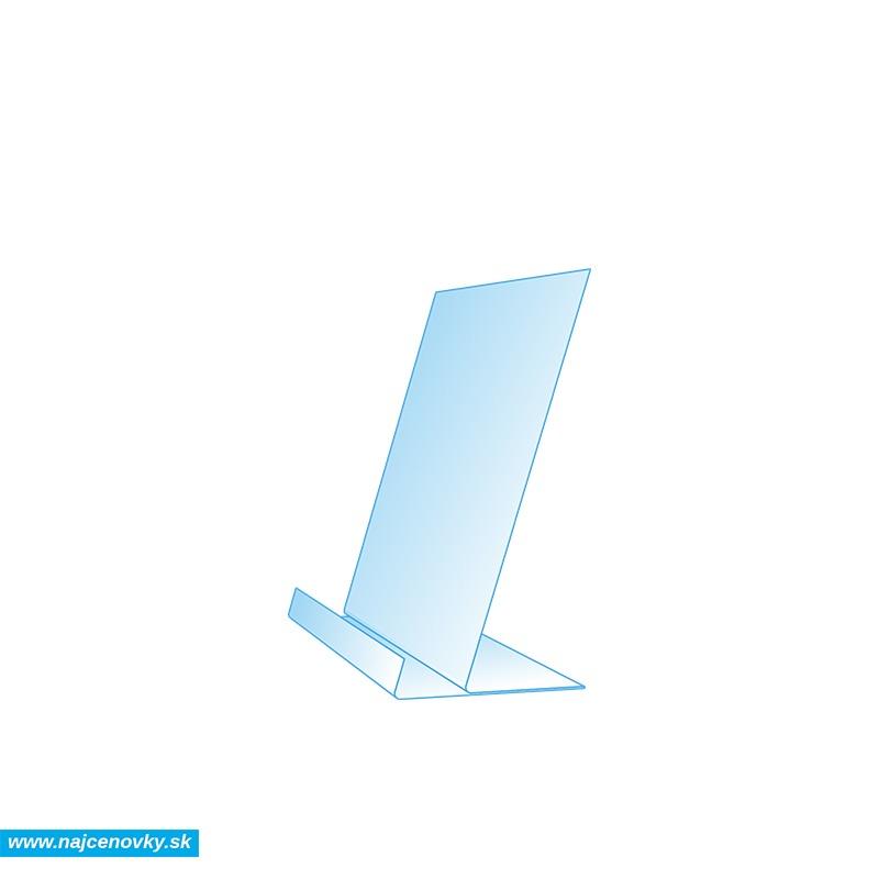 Plastový stojanček na letáky formátu A6