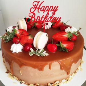 Zapich na narodeninovú tortu - Happy Birthday