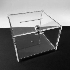 Plexi urna 21x21x15 cm