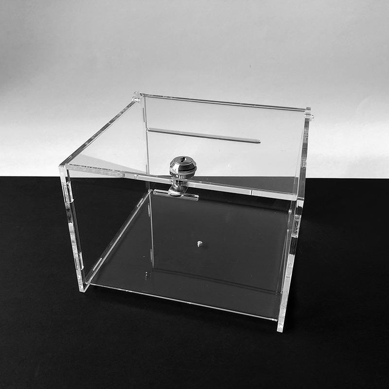 Plexi urna 21x21x15 cm s hrúbkou 5 mm,