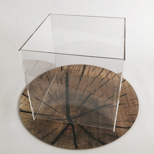 Úložný box z plexiskla