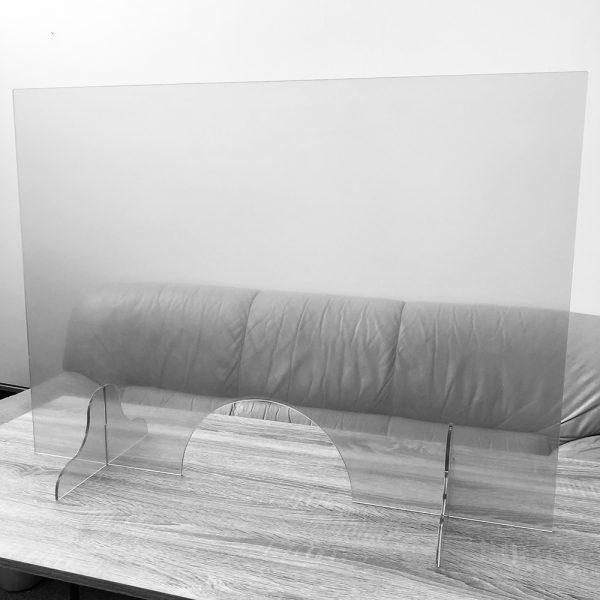 Plastová ochranná prepážka 100×90 cm