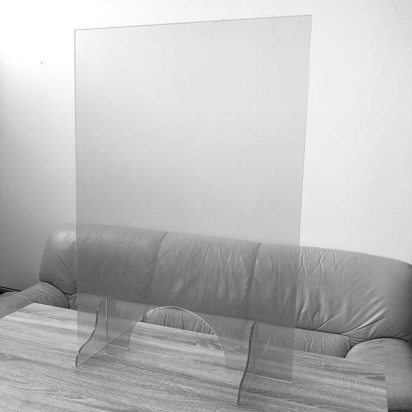Plexi ochranná prepážka 90×65 cm