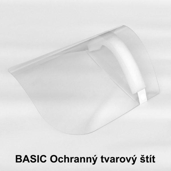 BASIC Ochranný tvarový štít